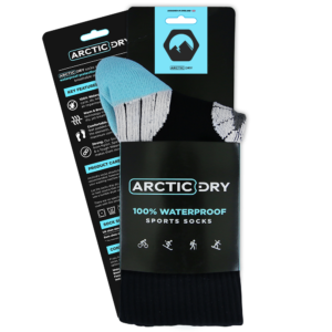 ArcticDry-Waterproof-Socks—Water-Resistant-Socks—Hiking-and-Cycling