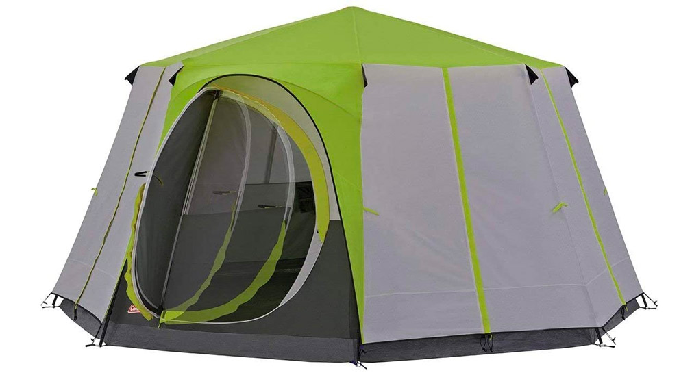 Best-Camping-Tents-Coleman-Octagon-Tent-2
