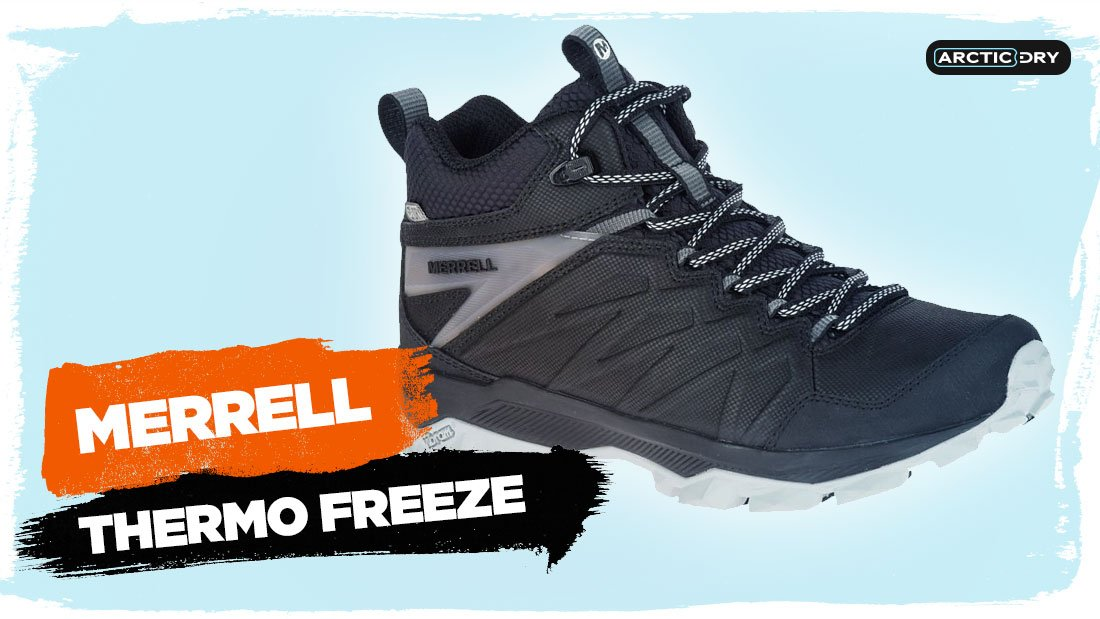 merrell thermo freeze hiking boots