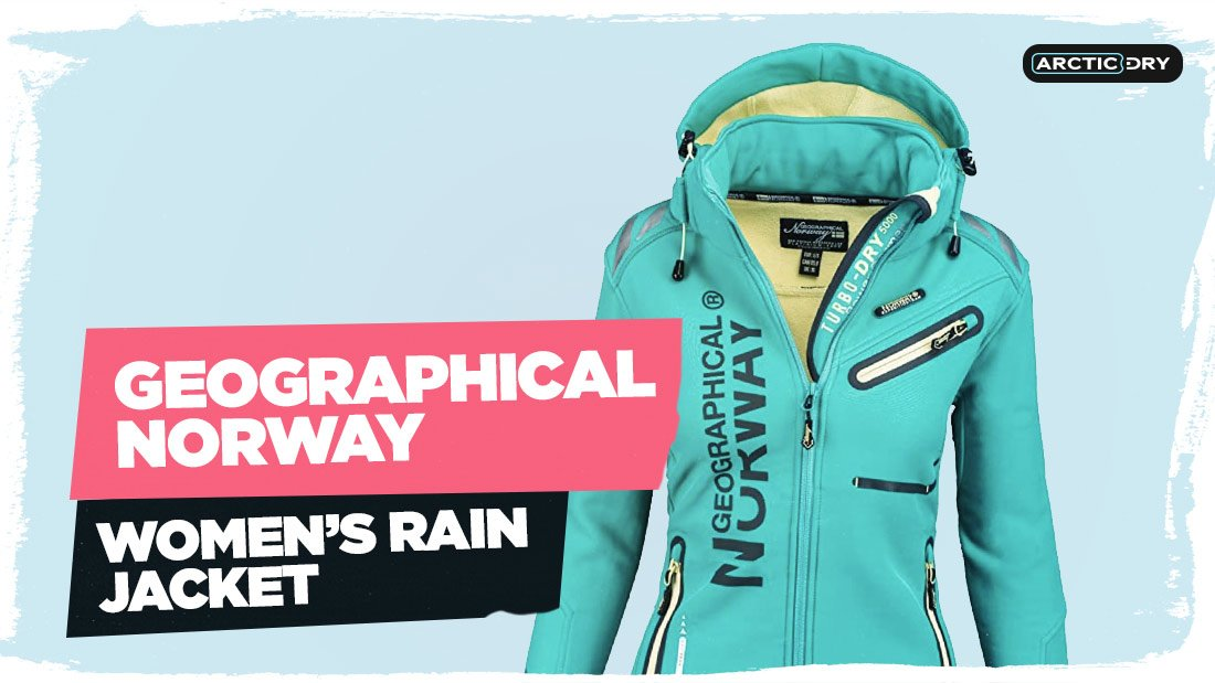 Geographical-Norway-Women's-Softshell-Functional-Outdoor-Rain-Sports-Jacket