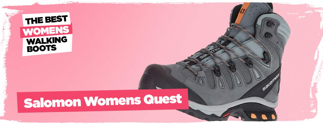 salomon womens quest best walking boots for women
