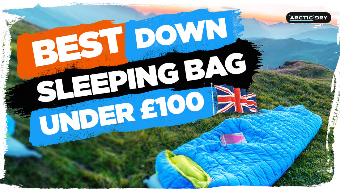 best-down-sleeping-bag-under-£100