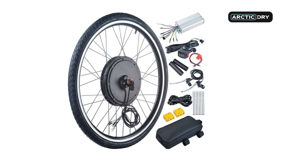 ReaseJoy-36V-500W-26'-Front-Wheel-Electric-Bicycle-Motor-Conversion-Kit